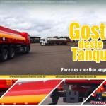 Tanques para transporte de combustível de aço carbono