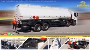 Tanque para transporte de combustível- Veículos 8x2