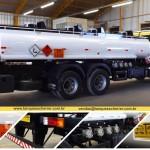 tanque para transporte de combustível aço carbono