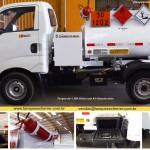 tanque para transporte de combustível abastecedor