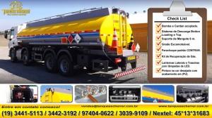 Tanque para transporte de combustível 20.000 Litros