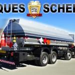 Tanque para transporte de combustível de aço carbono