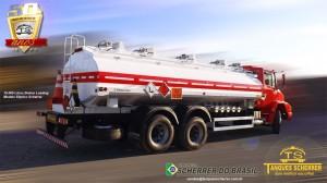 Tanque para transporte de combustível capacidade para 16.000 litros - Botton Loading