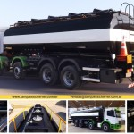 Tanque para transporte de combustível e coleta de óleo reciclável