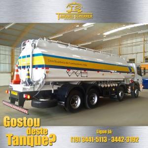 Tanque 23.000 litros com sitema de descarga Botton loading